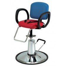 PIbbs 5470 Loop Kids Styling Chair With Vinyl Color Choice