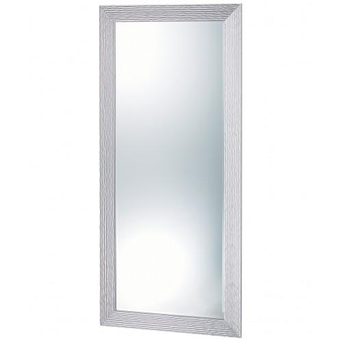 PIbbs 7719 Wave Wall Salon Mirror Silver