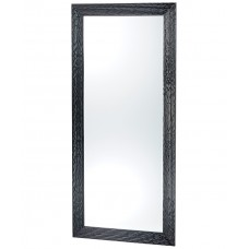 PIbbs 7727 Wave Wall Salon Mirror Black