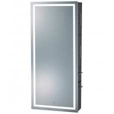 PIbbs 9110 Wall Mounted Lumina LED Mirror With Cabinet