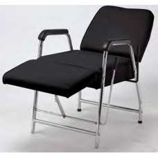 250 Black Only Lever Recline Shampoo Chair With Leg Rest