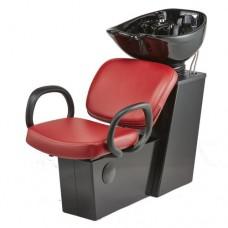 Pibbs 5254 Loop Shampoo Side or Backwash Sliding Chair Tilting Bowl