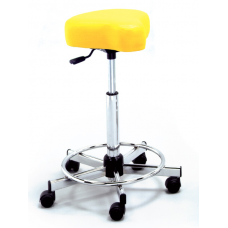 721 Thick Bike Seat Hair Cutting Stool With Backrest 23 to 33 Inch Lift By Pibbs