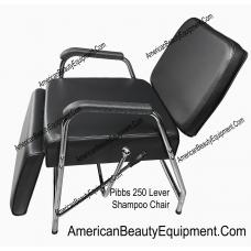 Pibbs 250 Lever Recline Shampoo Chair With Leg Rest