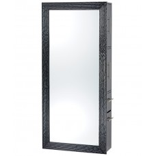 PIbbs 7727-SER02 Wave Black Styling Station With Mirror