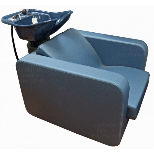 SHOWROOM MODEL WITH FOOTREST Belvedere PH04 Plush Backwash Shampoo Backwash