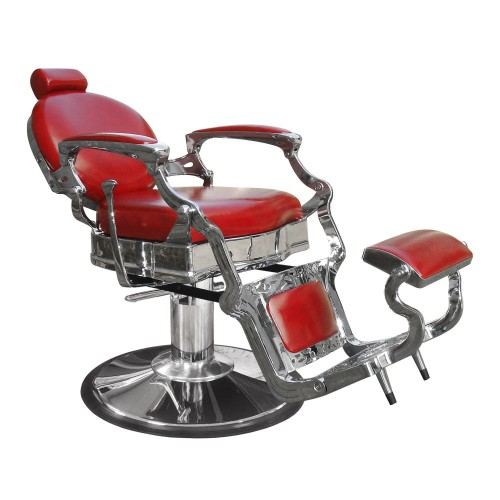 8088 Princeton Barber Chair Available In Black or Red For Fast Shipping