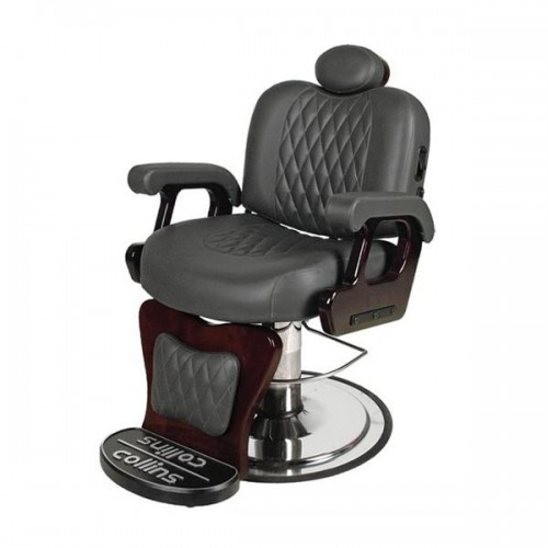 Collins 9050 Commander Barber Chair NO KICKOUT LEGS