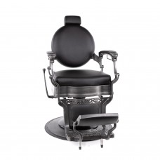 Collins 8088B Brushed Metal Princeton Barber Chair