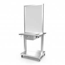 Veeco 2102-28 Stainless Steel Island Station On Wheels High Quality