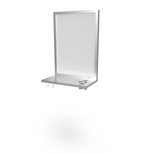 Veeco 2103-36 Single Stainless Wall Station US Made