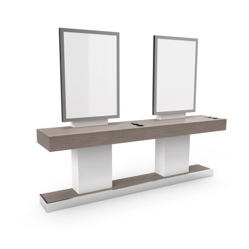 Collins 2140-96 Double Wall Station With Continuous Top & Base