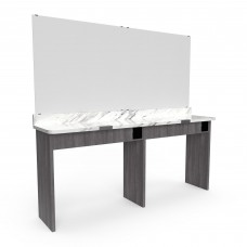 Collins 2452-72 Double Theory Beauty Teaching Work Station 1