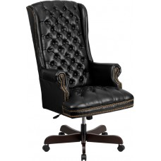 360BK Leather Tufted High Back Pampering Manicure or Client Chair For Salons and Spas From Italica