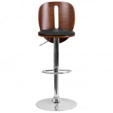 Italica 2220 Walnut Bentwood Adjustable Height Make Up stool FREE SHIPPING