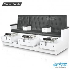 Vienna Triple Bench by Gulfstream