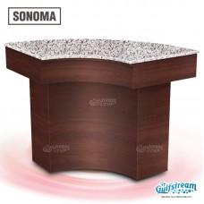 Sonoma Corner Nail Minibar by Gulfstream