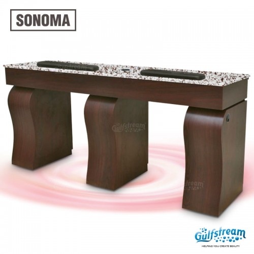 Sonoma Double Nail Table by Gulfstream