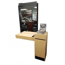 Showroom Model Collins Reve Styling Station With Mirror & Frame