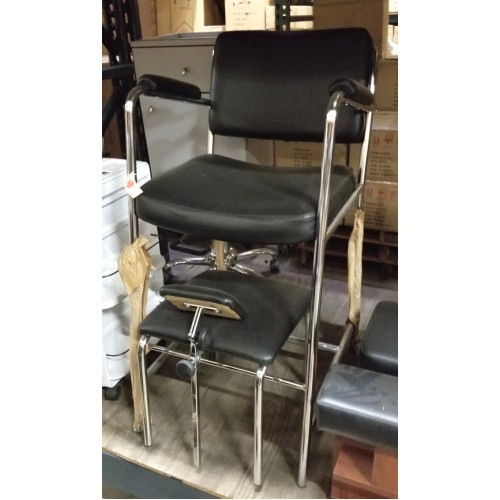 Global Pedicure Chair With Footrest Manual Model New Never Used