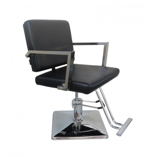 Italica B15M Charles Metal Back Styling Chair With Square Base Standard