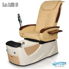 La Lili 5 Pipeless Pedicure Spa With Front Storage Drawer Inside The Spa Base