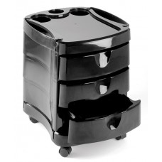 Pibbs 2045 Zorro Pedicure Trolley With 3 Drawers