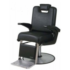 "Belvedere A-61 Admiral USA made barber chair with oversized RD12BC 27"" Base"
