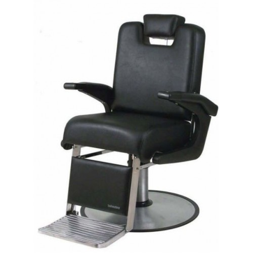 """Belvedere A-61 Admiral USA made barber chair with oversized RD12BC 27"""" Base"""