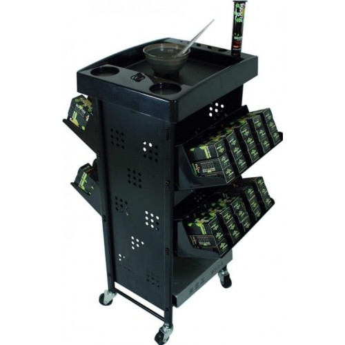 T005 Hair Color Storage Trolley & Working Cart From Italica