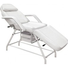 Italica Brand 2604 Stationary Treatment Table For Facials, Skin Care or Tattooing With Free JY08 Facial Steamer