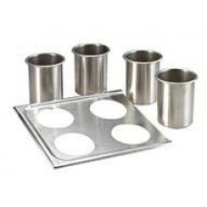 Four Jacketed  Bottle Warmer