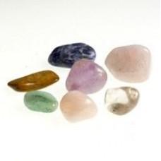Stone Chakras 8 Semi-Precious Stones #827