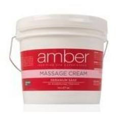 Massage Cream 128 oz. Geranium Sage #533-GS