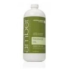 Massage Oil 32 oz. Green Tea Mint #526-GT