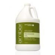 Massage Oil 128 oz. Green Tea Mint #527-GT
