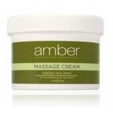 Massage Cream 8 oz. Green Tea Mint #531-GT