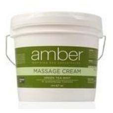 Massage Cream 128 oz. Green Tea Mint #533-GT