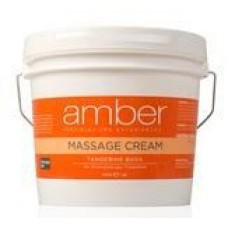 Massage Cream 128 oz. Tangerine Basil #533-TB