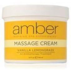 Massage Cream 32oz. Vanilla Lemongrass #532-VL