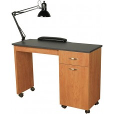 Collins 3344-42 Cameo Nail Table USA Made Fast Shipping Table