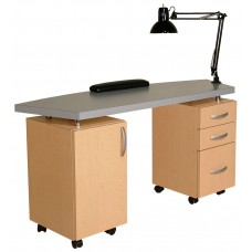 "Collins 804-60 Soho 60""W USA Made Manicure Table"