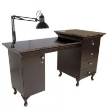 Collins 66120 Custom Marble Top Bradford USA Made Manicure Table