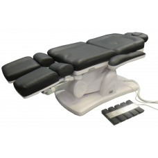 Italica 2237 - 5 Motor Full Electric Facial Treatment Table With Split Legs and Face Cradle for Massage