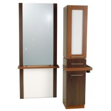 COL-627-20 Alta A-Tall Tower Vanity Styling Station & Display