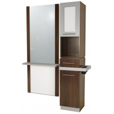 COL-628-20 Alta B-Tall Tower Vanity With Framed Door