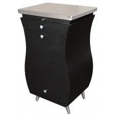 COL-864-24 Raggio Styling Vanity Station With Stainless Top