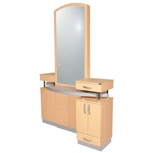 Collins 802-66 Soho Hair Salon Styling Island For 2 Stylists