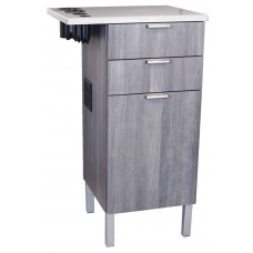 COL-6642-21 Zada Styling Cabinet With Stainless Steel Top