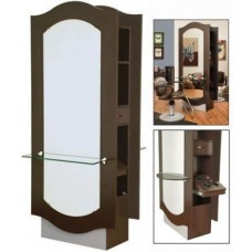 Collins 3358-36 Keaton B2B Formula Styling Island With Mirror & Ledge